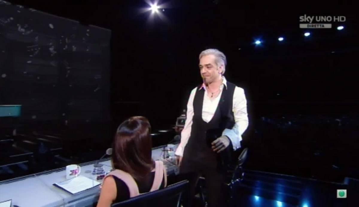 La pagliacciata di Morgan: torna a X Factor