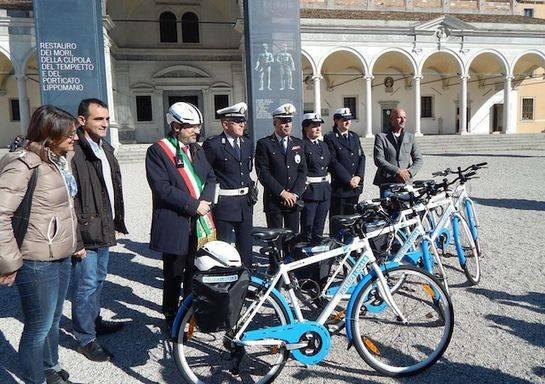 I vigili urbani di Udine / Foto: Il Messaggero Veneto