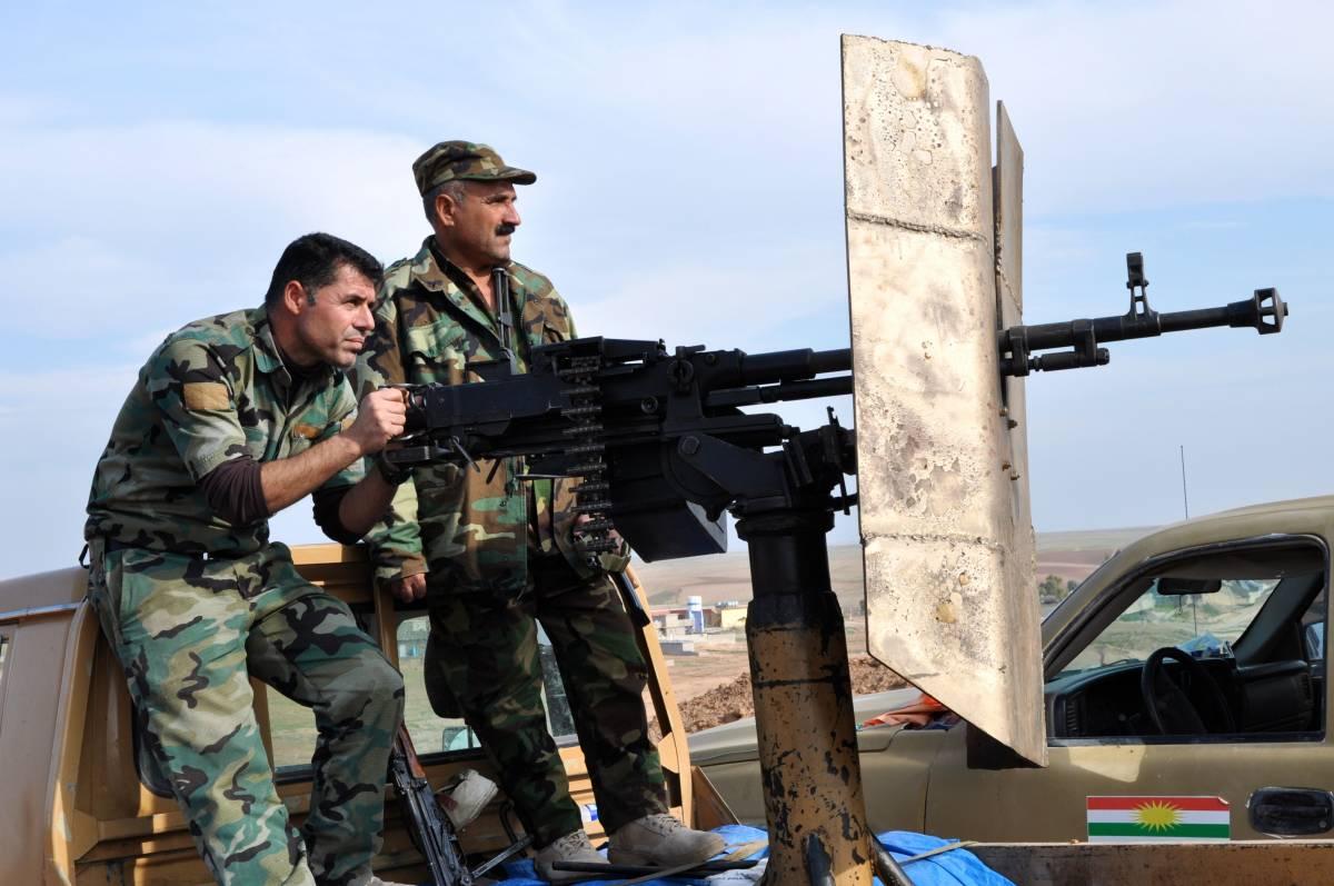 Peshmerga sul fronte a 23 chilometri da Mosul