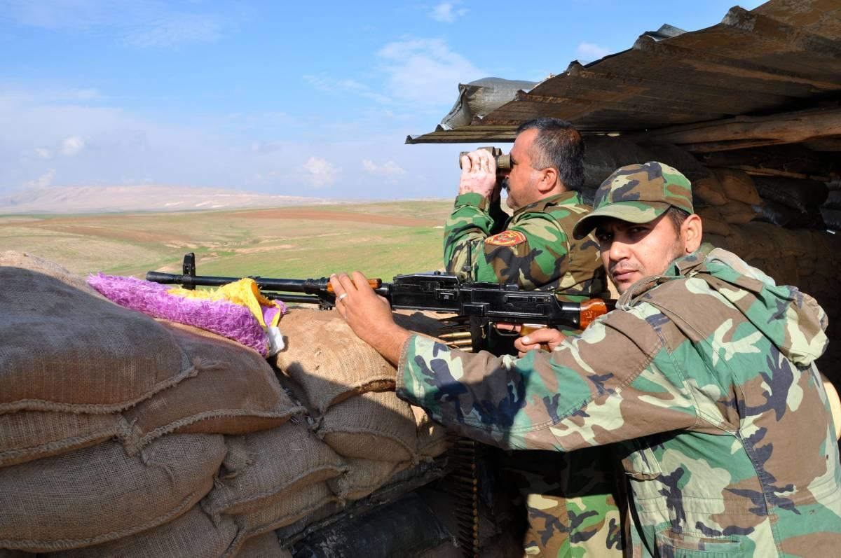 Al fronte con i peshmerga