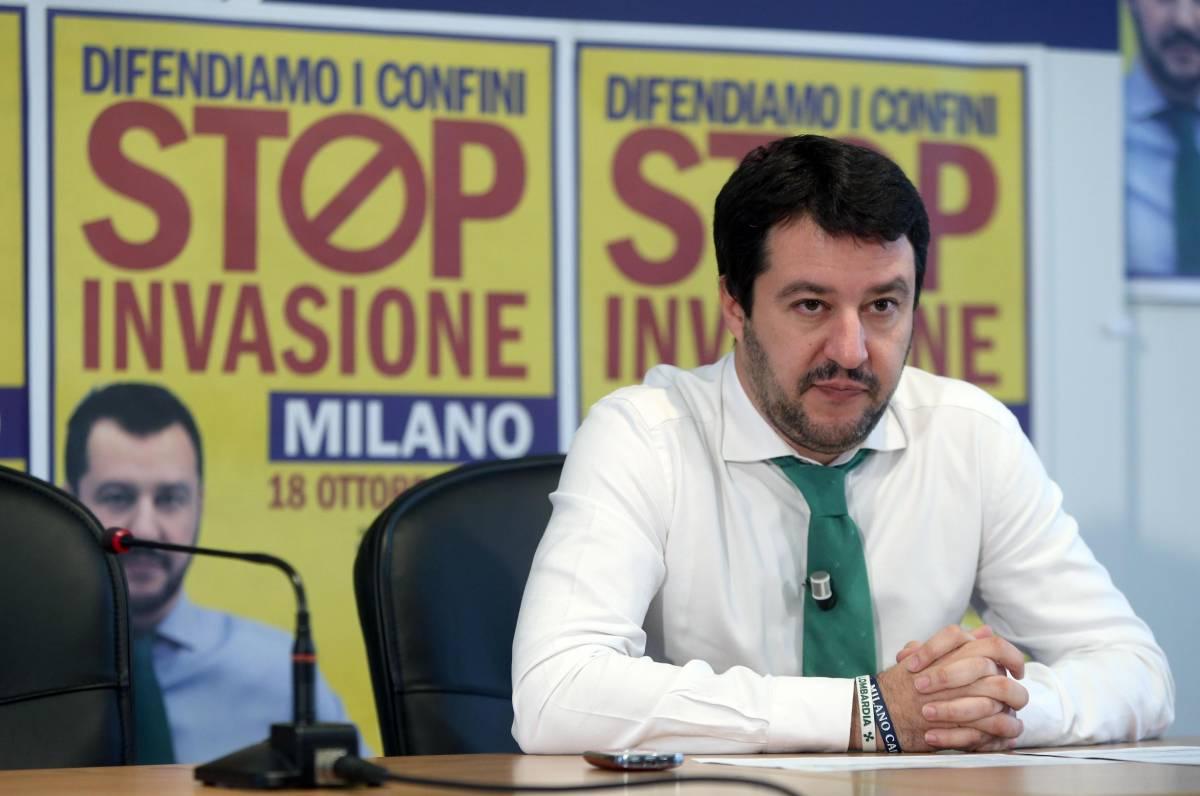 """Salvini guarda al di sotto del Po: """"Col Sud abbiamo sbagliato"""""""