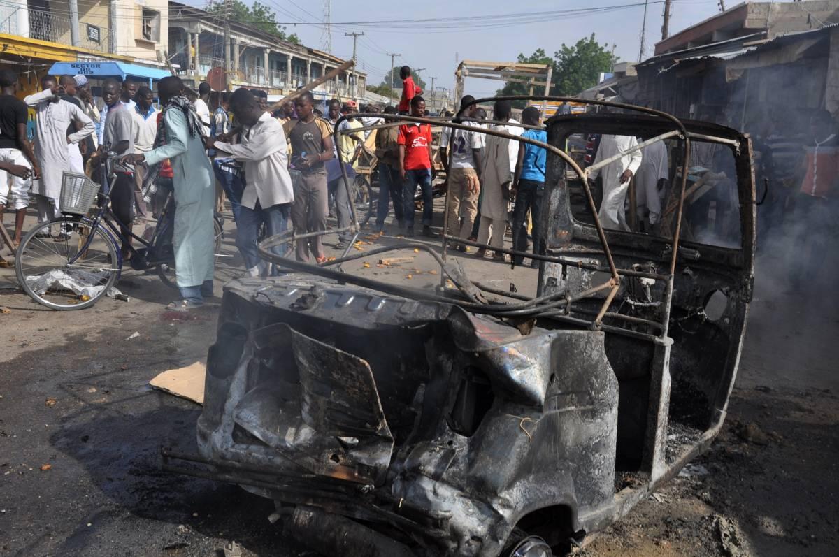 Grave attentato a Maiduguri (Nigeria)