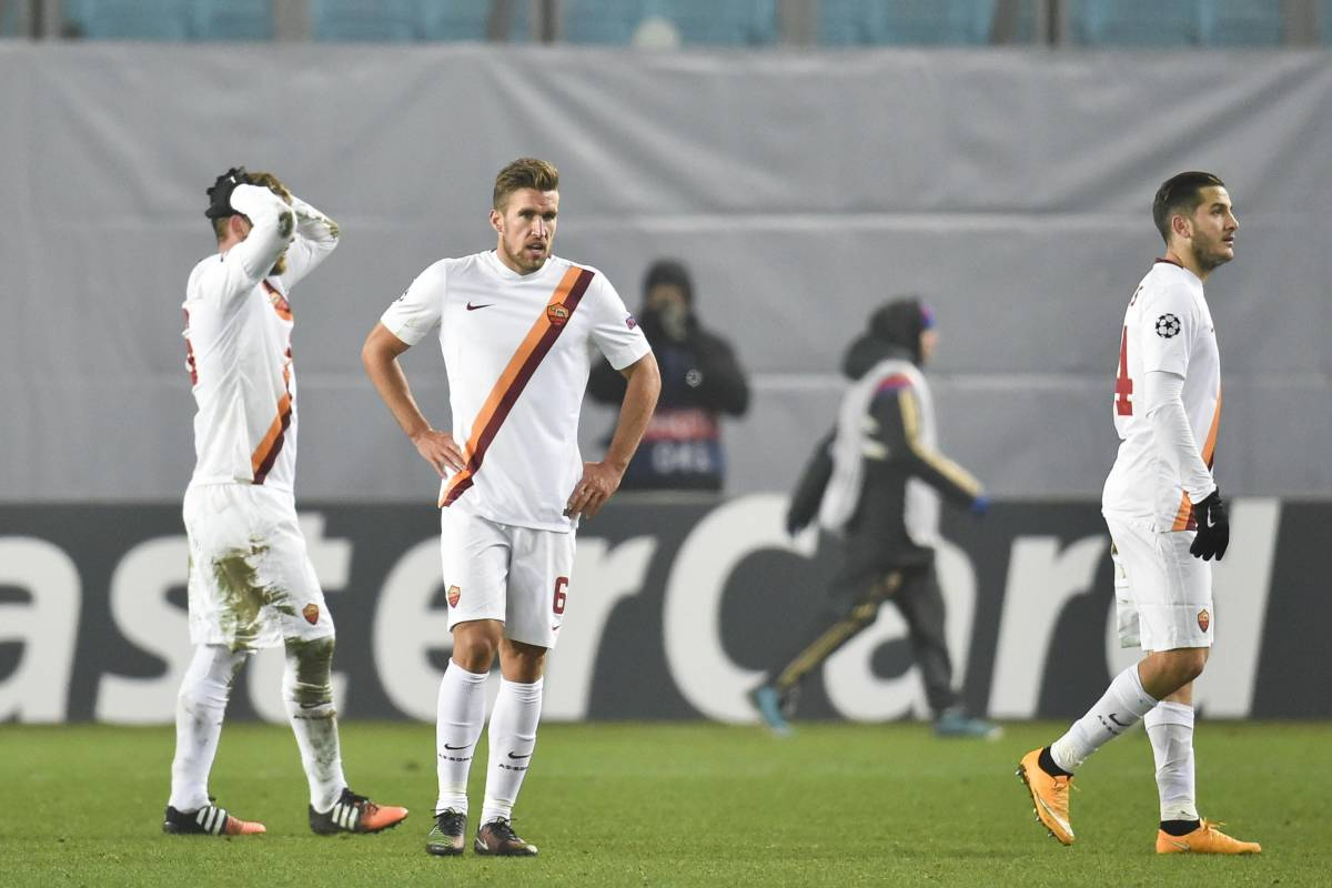 Champions, Roma beffata al 93' dal Cska Mosca