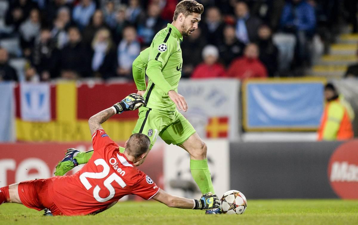 Llorente&Tevez gol, la Juve all'italiana va