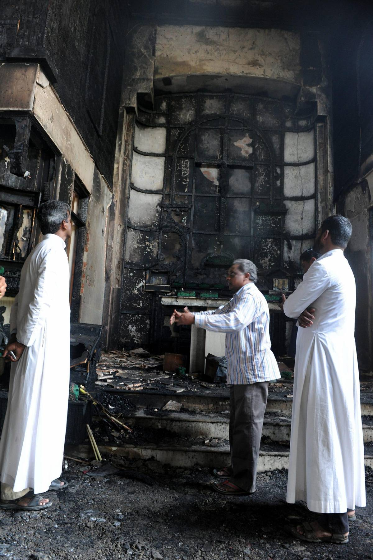 Attentato in India: bruciata una chiesa