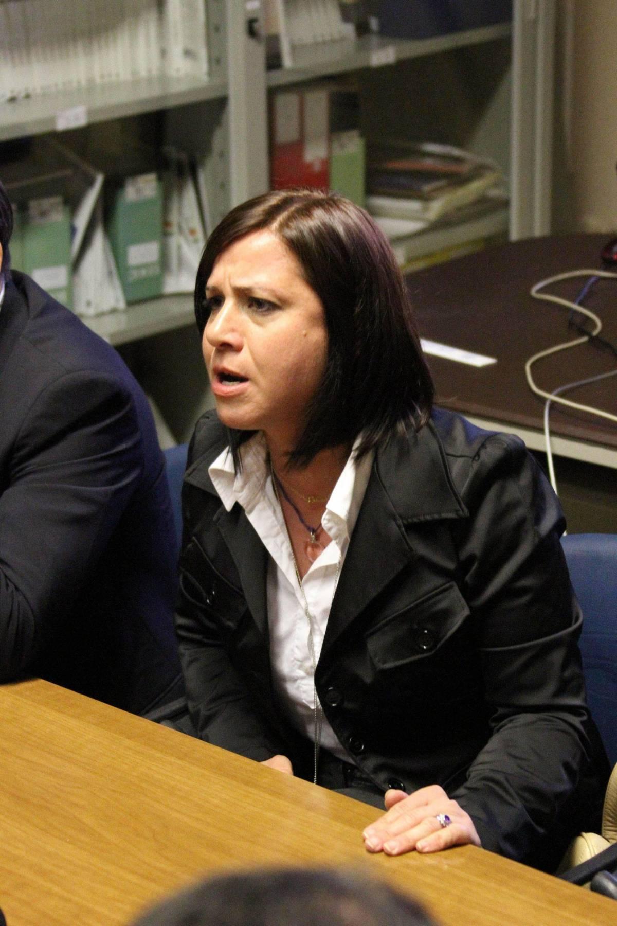 Piera Maggio, madre di Denise Pipitone, un una foto del 27 giugno 2013