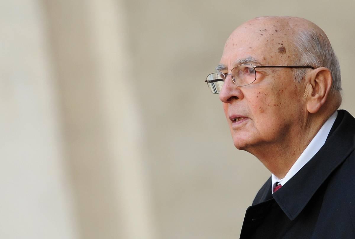 """Napolitano rivendica la """"sua"""" guerra"""
