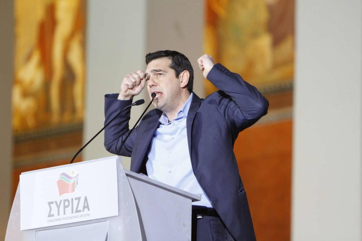 """Il programma di Tsipras: """"La Grecia fuori dalla Nato"""""""