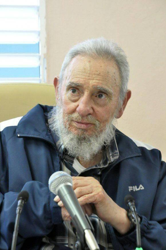 Fidel Castro in uno scatto del 2013