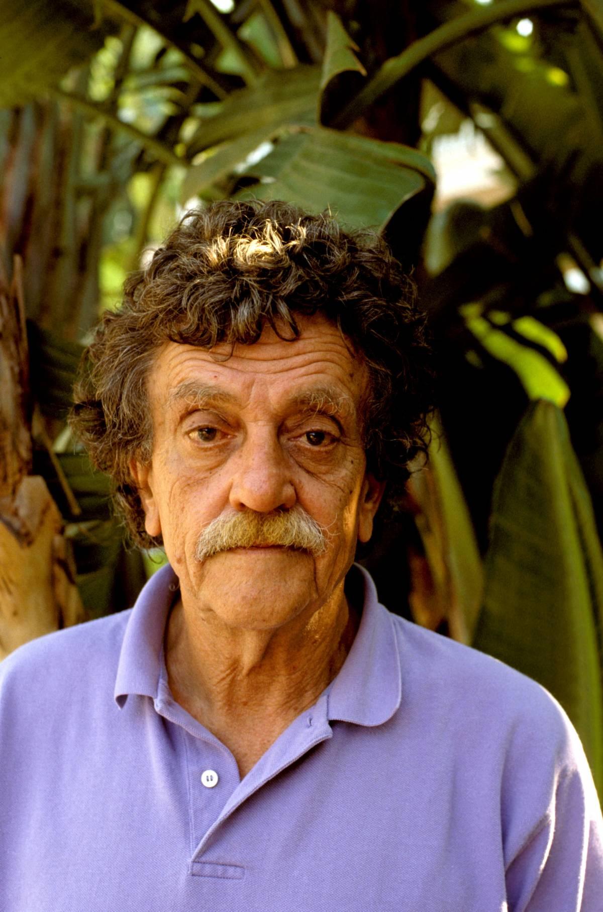 Lo scrittore Kurt Vonnegut