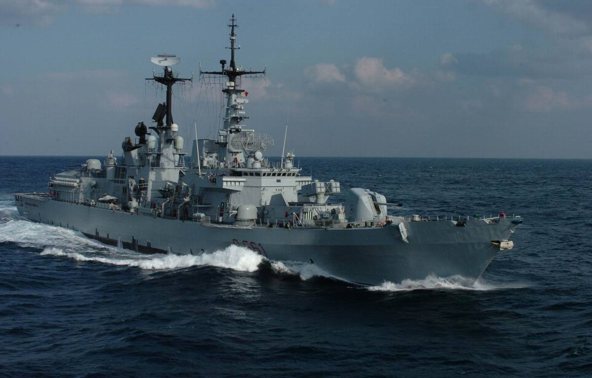 Navi militari italiane si avvicinano alla Libia