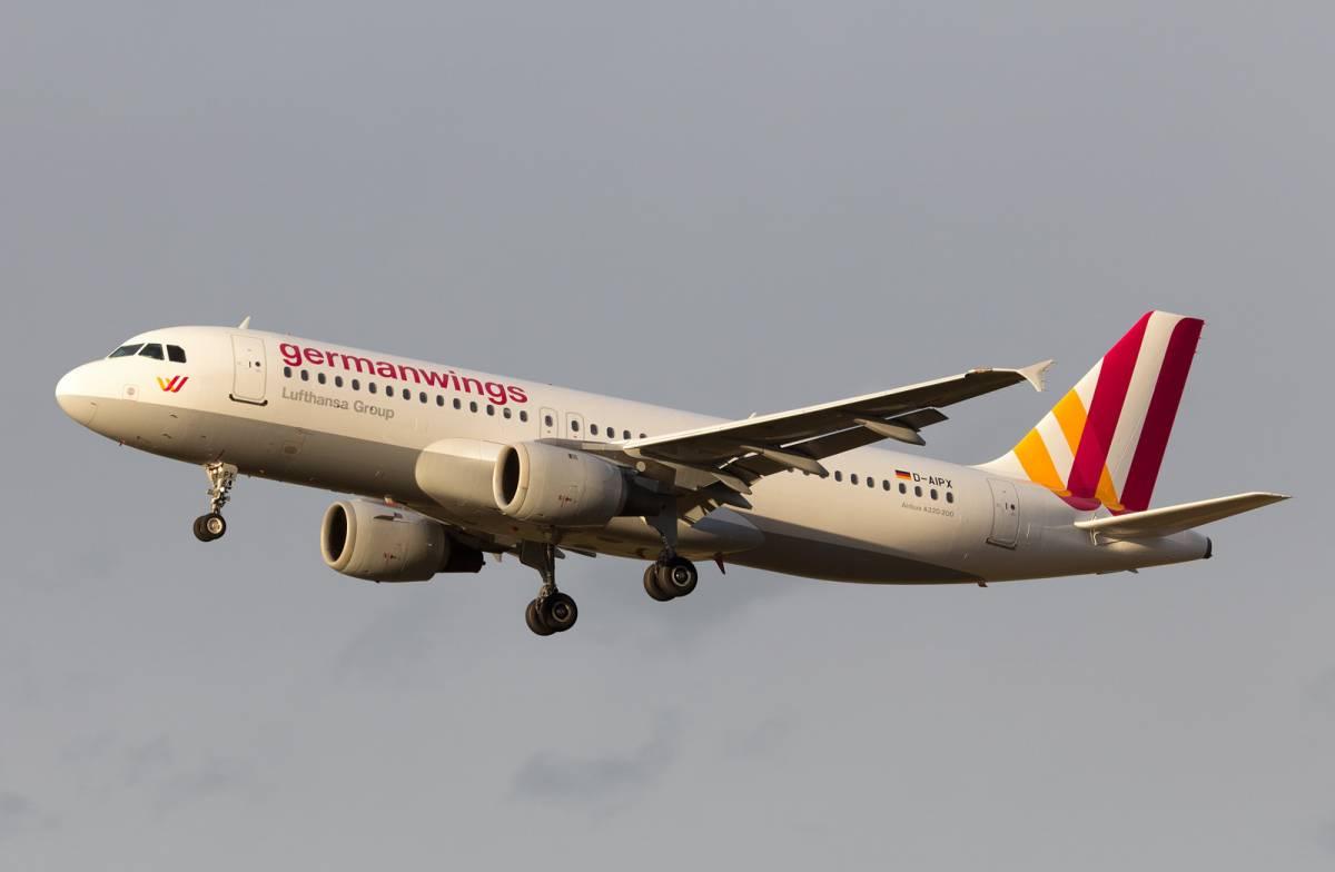 Un airbus A320 della Germanwings
