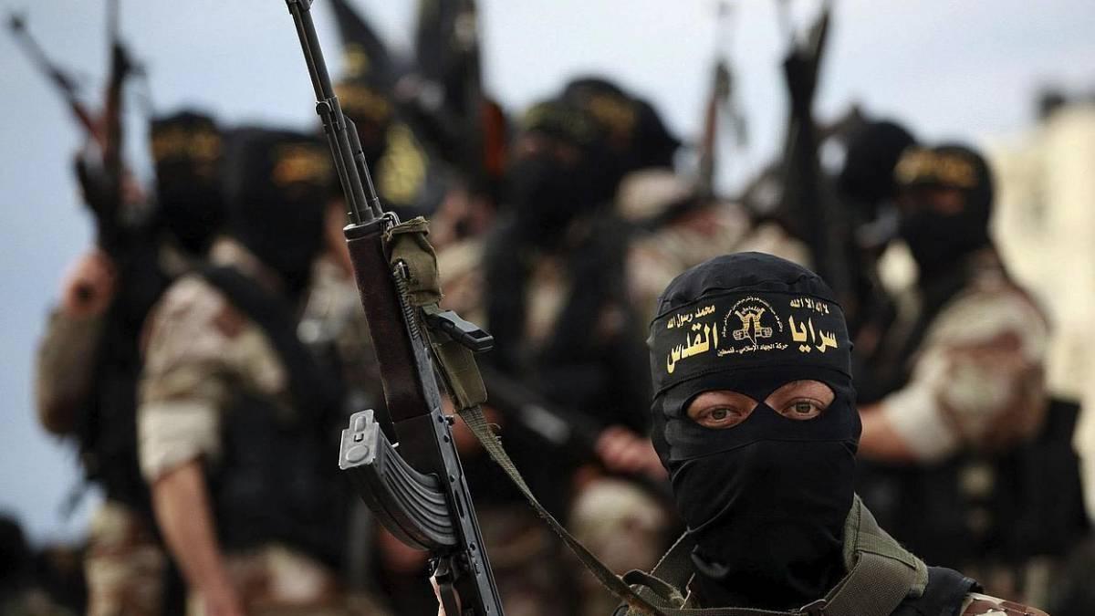 Un militante delle Brigate al-Quds palestinesi