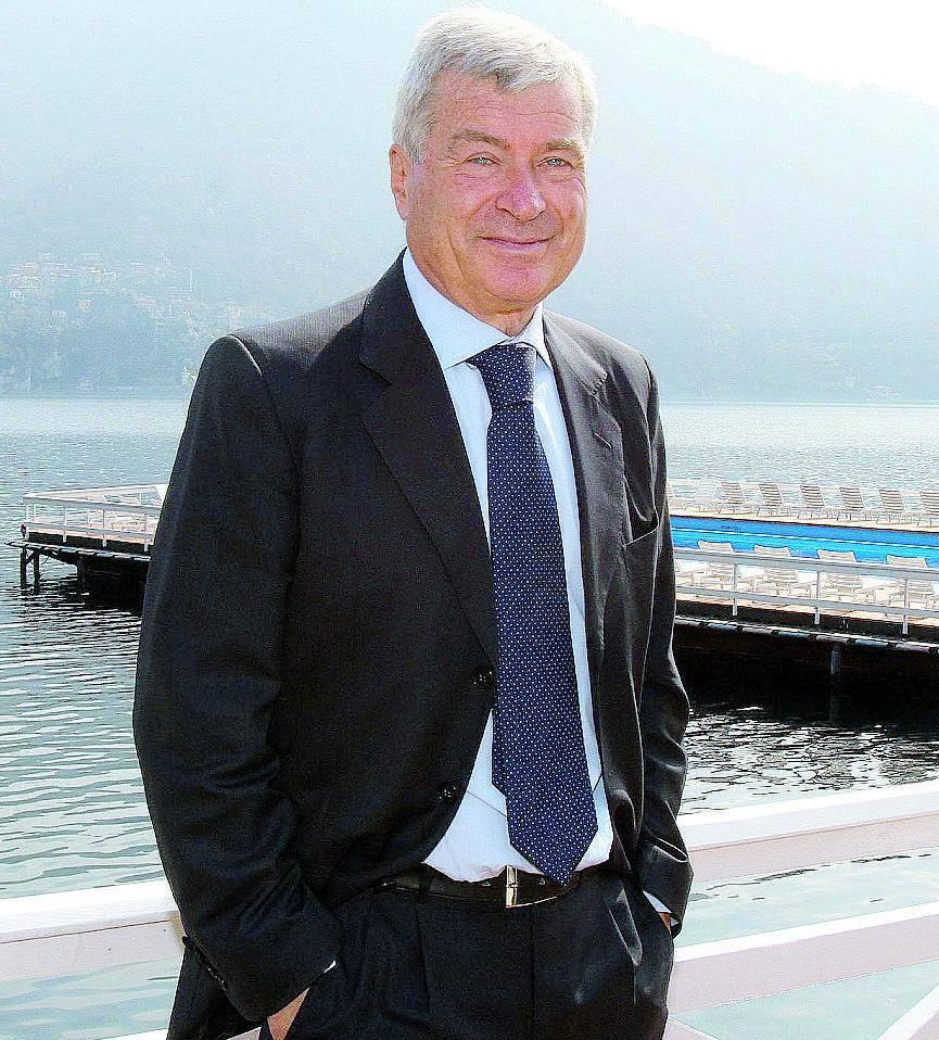 Il presidente di Confcommercio Carlo Sangalli