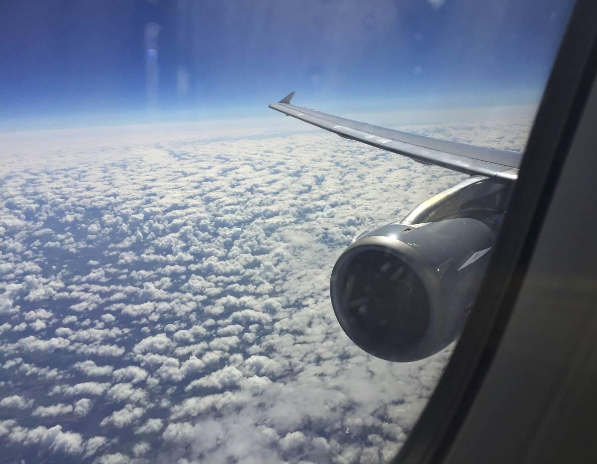 Houston, donna apre portellone dell'aereo e si butta dopo l'atterraggio