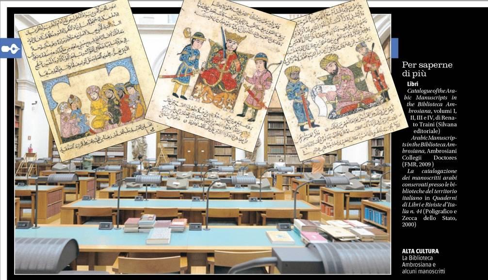La Biblioteca Ambrosiana e alcuni manoscritti