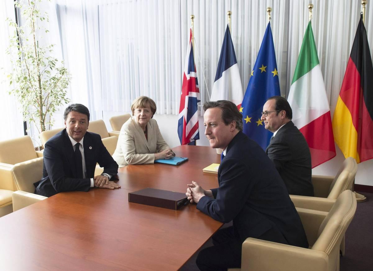 """Vertice Ue sull'immigrazione. La linea dura di Cameron: """"Non accoglieremo migranti"""""""