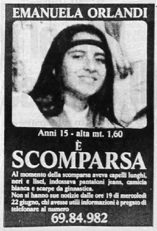 """""""Bergoglio ha alzato il muro su Emanuela Orlandi"""""""