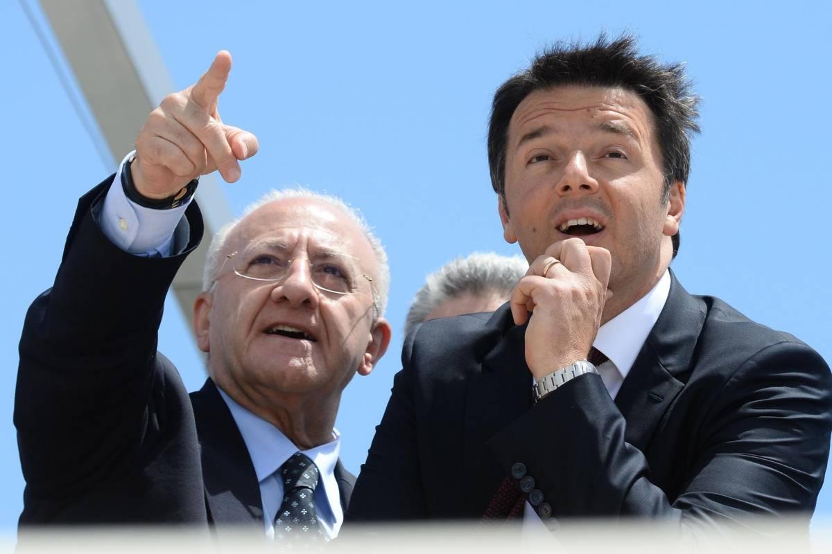 Renzi fa scudo allo Sceriffo e compra le metropoli al voto