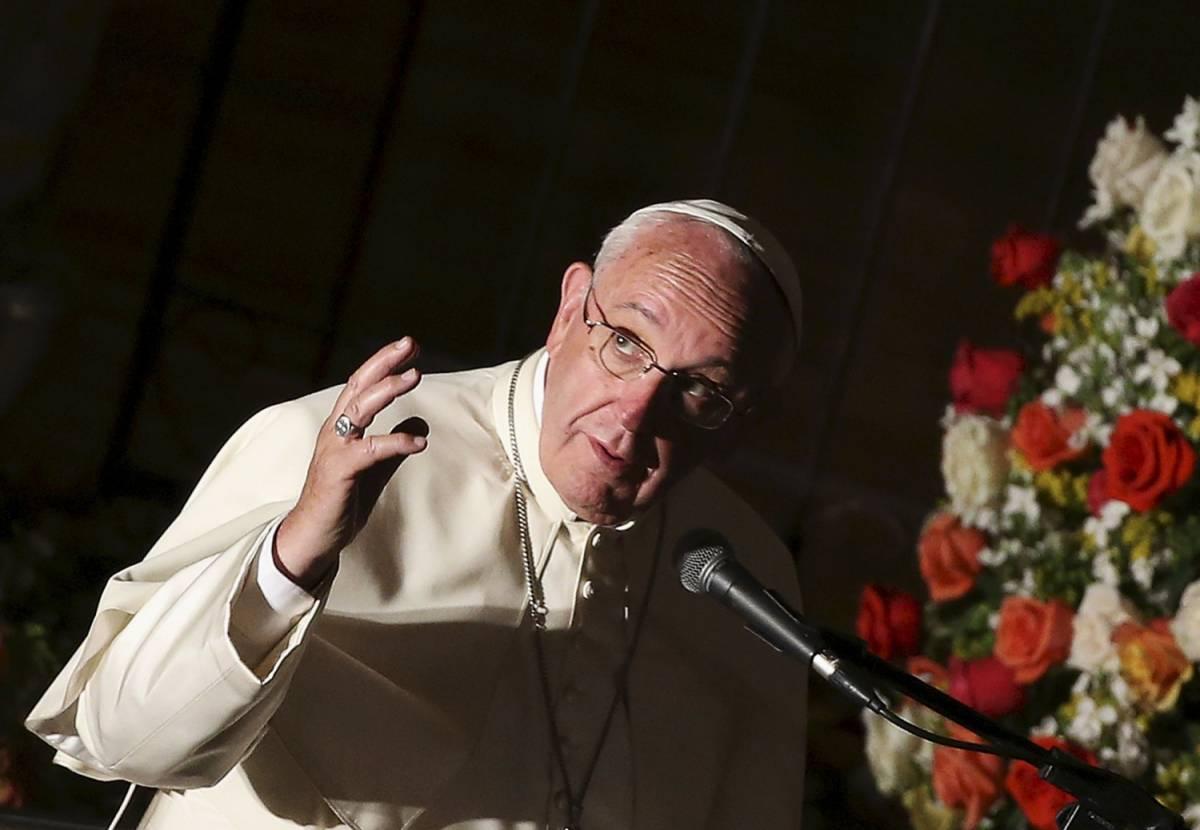 """L'appello di papa Francesco: """"Accogliere i buoni e i cattivi"""""""