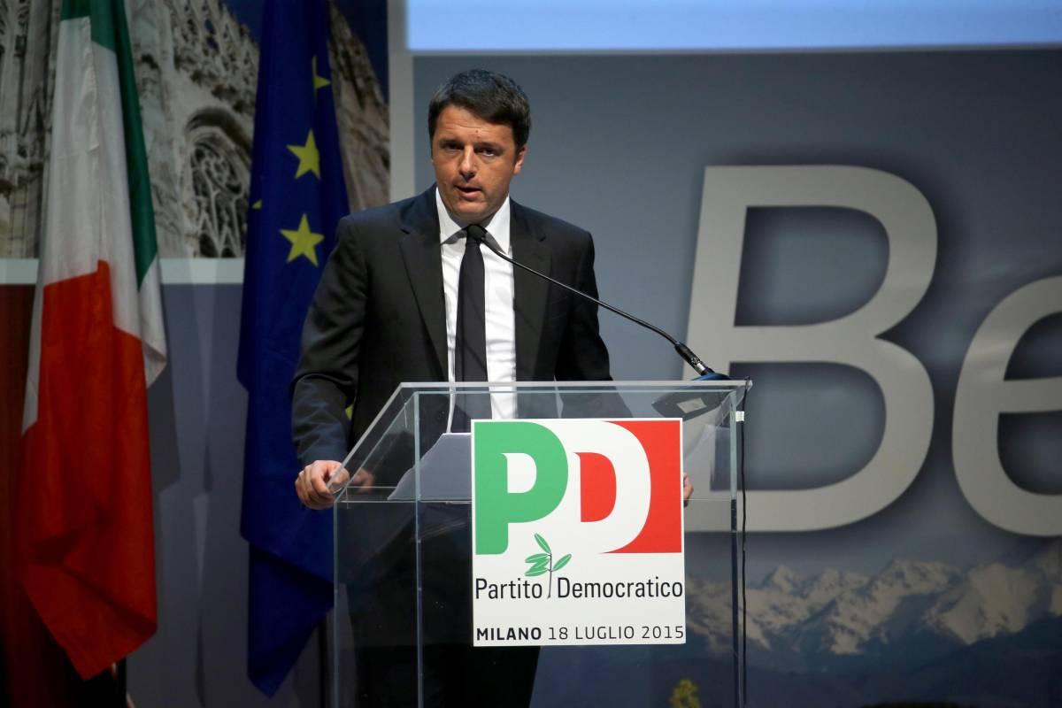 """Assemblea nazionale Pd, Renzi: """"Via la tassa sulla prima casa"""""""