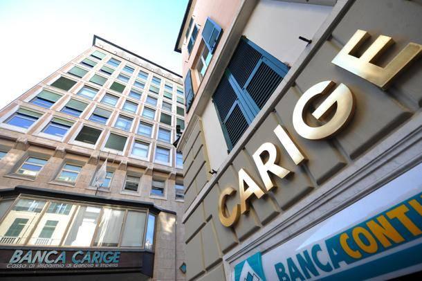 Banca Carige, 1000 esuberi e chiusura 121 filiali