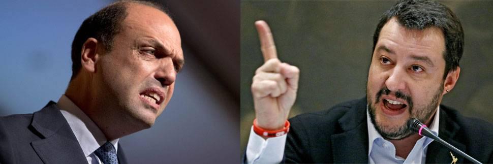 """""""Dimostra solo nanismo morale"""". Alfano insulta (ancora) Salvini: """"Sperava che colpissero l'Italia"""""""
