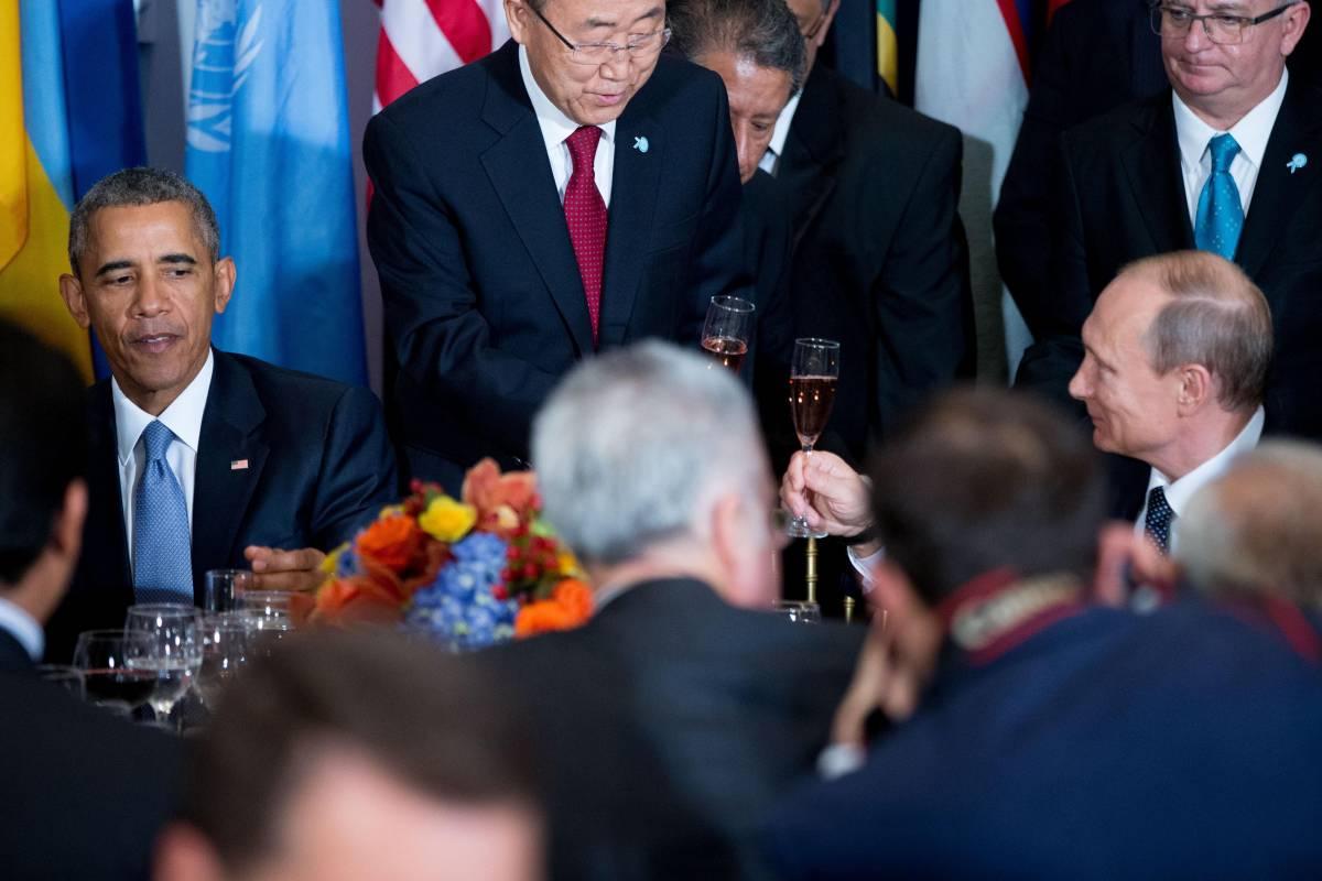 """Scontro all'Onu, Obama: """"Assad è un tiranno"""". E Putin: """"Pericoloso giocare coi terroristi"""""""