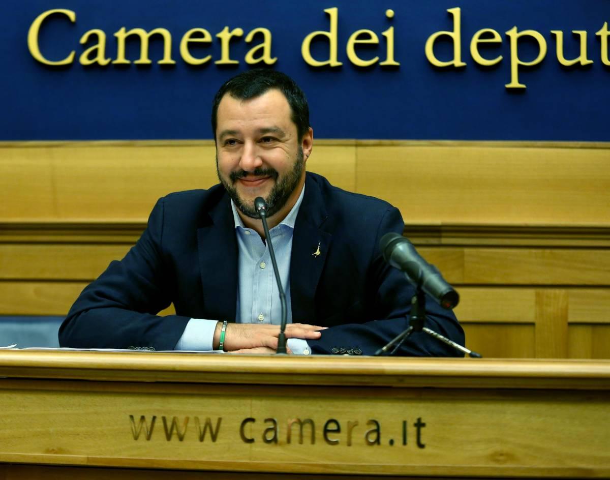 """Salvini: """"Candidarmi a Milano? Un sogno, ma non adesso"""""""