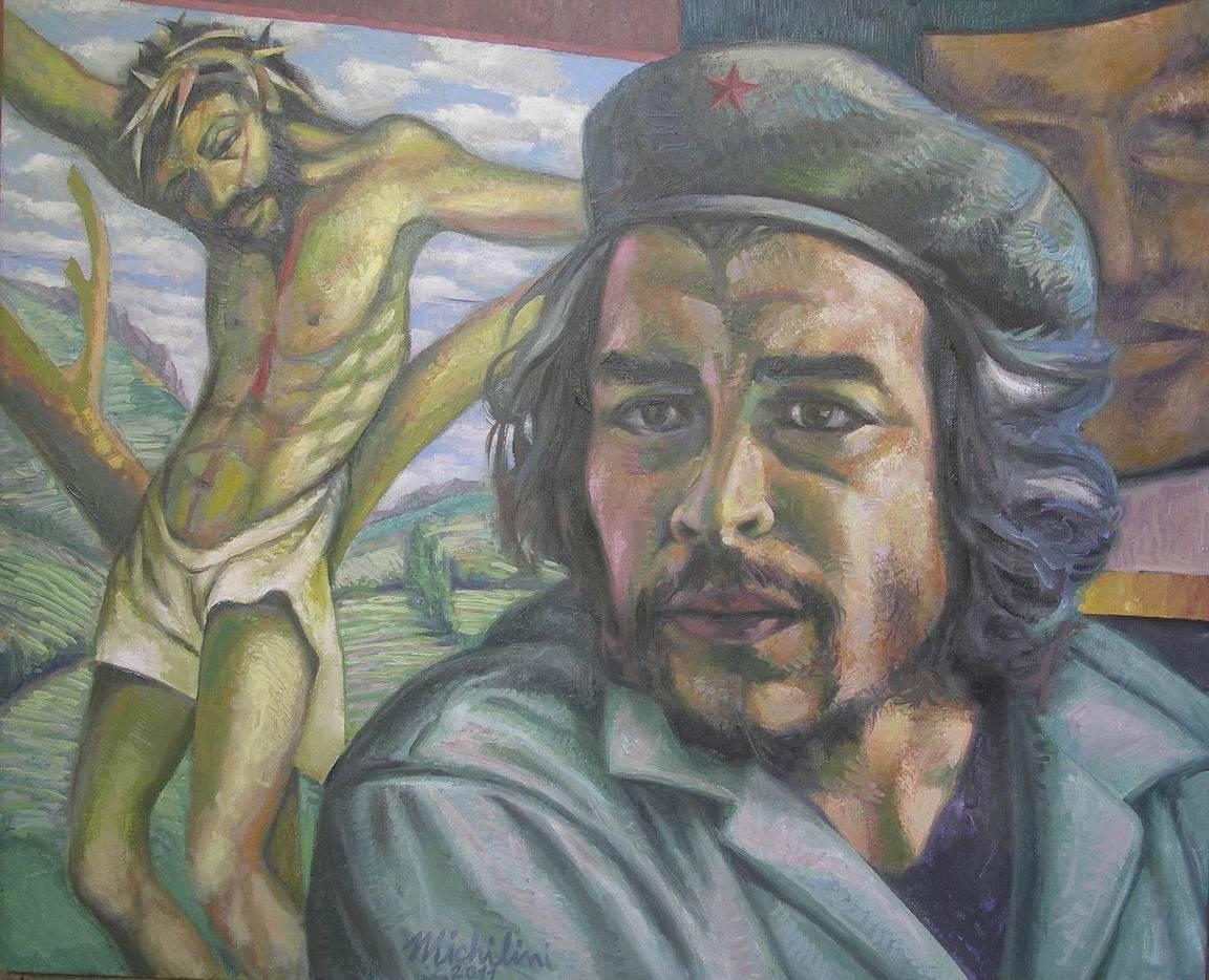 Che Guevara e Cristo crocifisso di Sergio Michilini