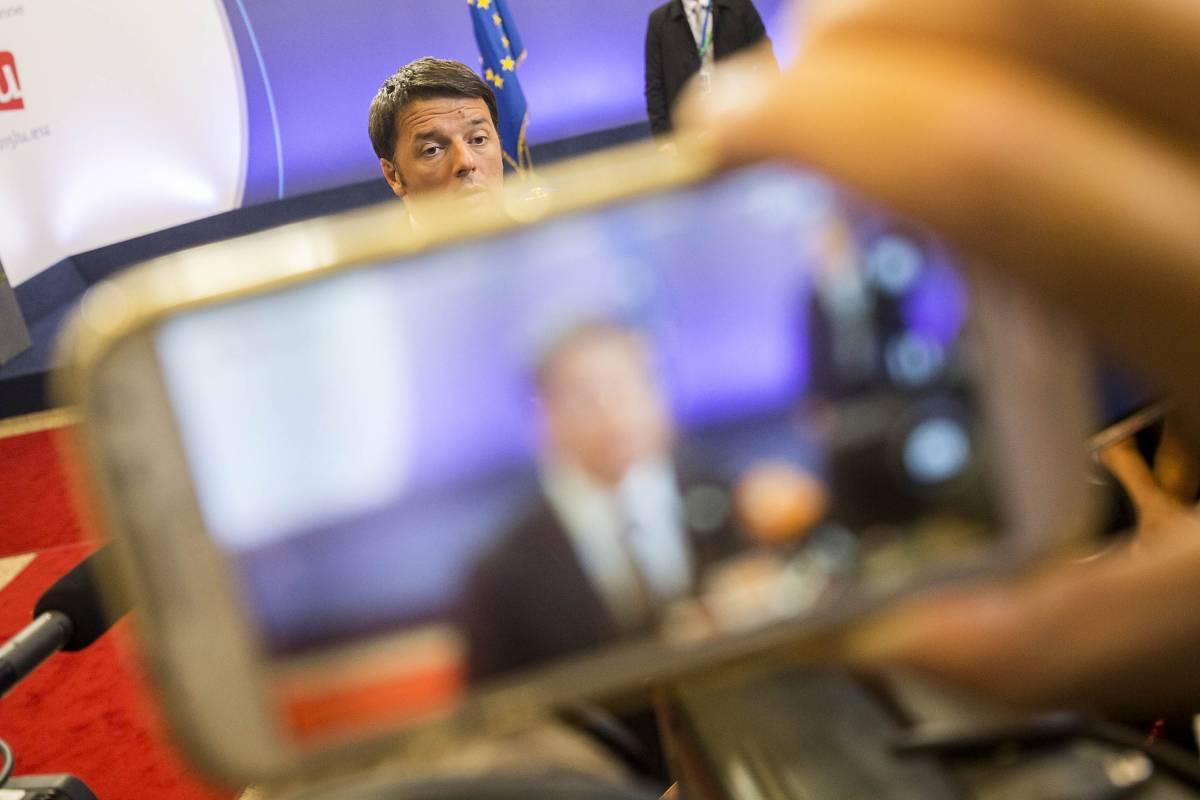 Due italiani su tre non credono più a Renzi