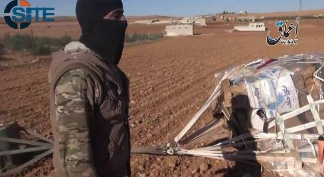 Armi Usa paracadutate all'Isis (accidentalmente)