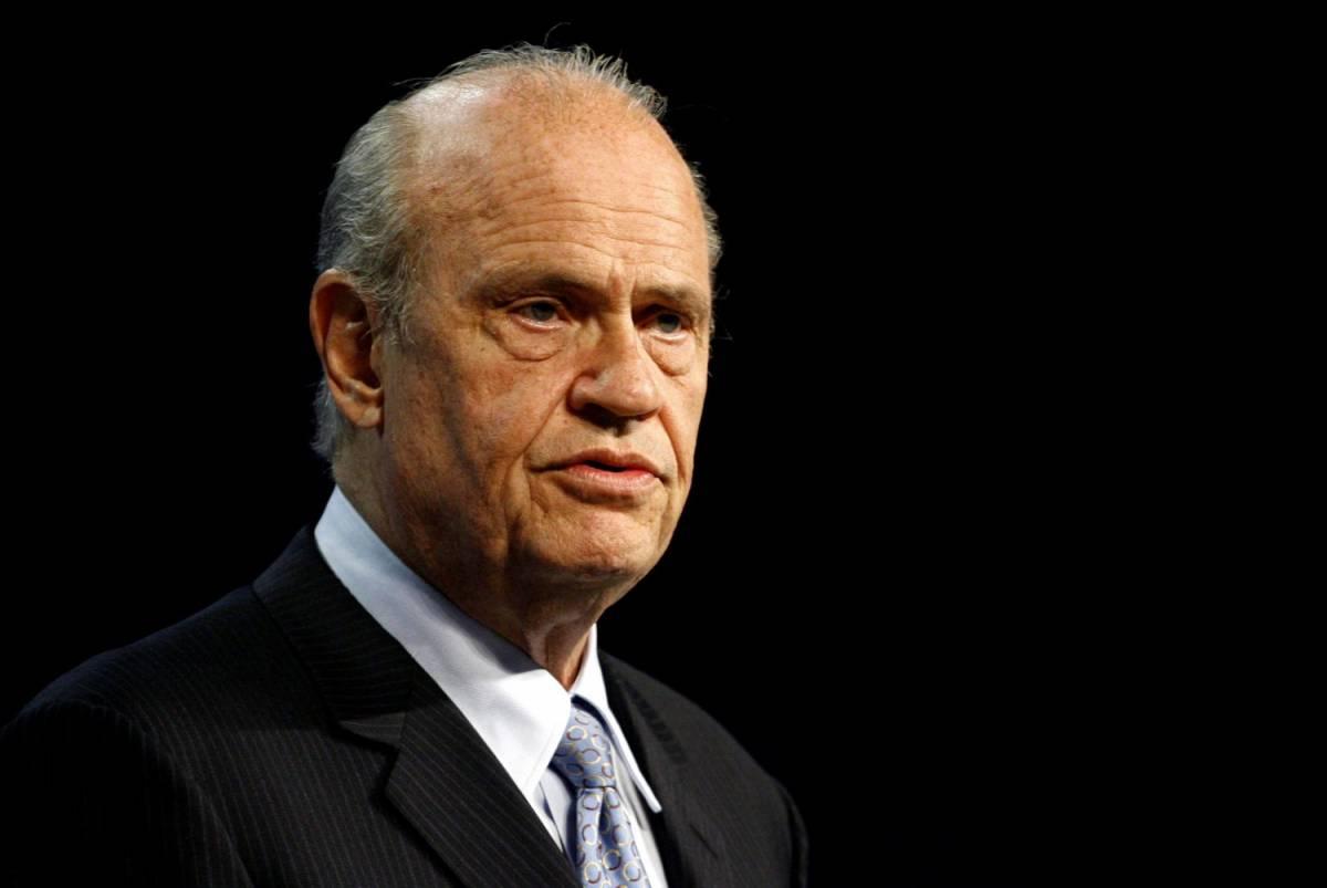 È morto Fred Thompson, attore di cinema e tv ed ex senatore americano