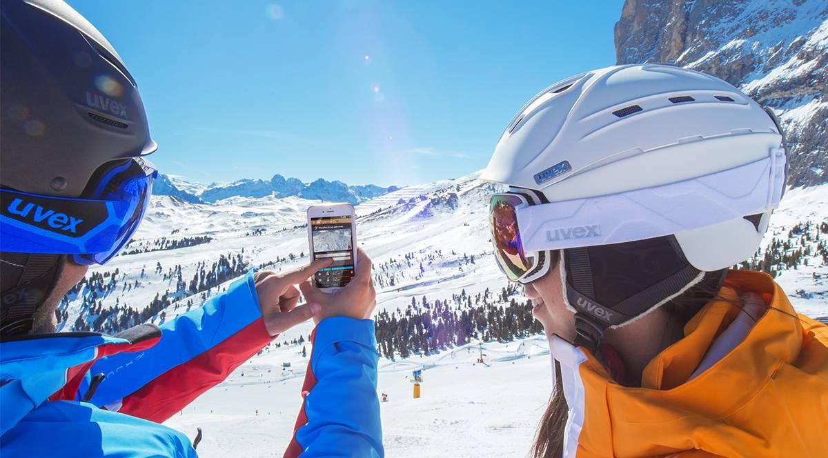 Sci senza confini con 3D Superski, la app delle Dolomiti