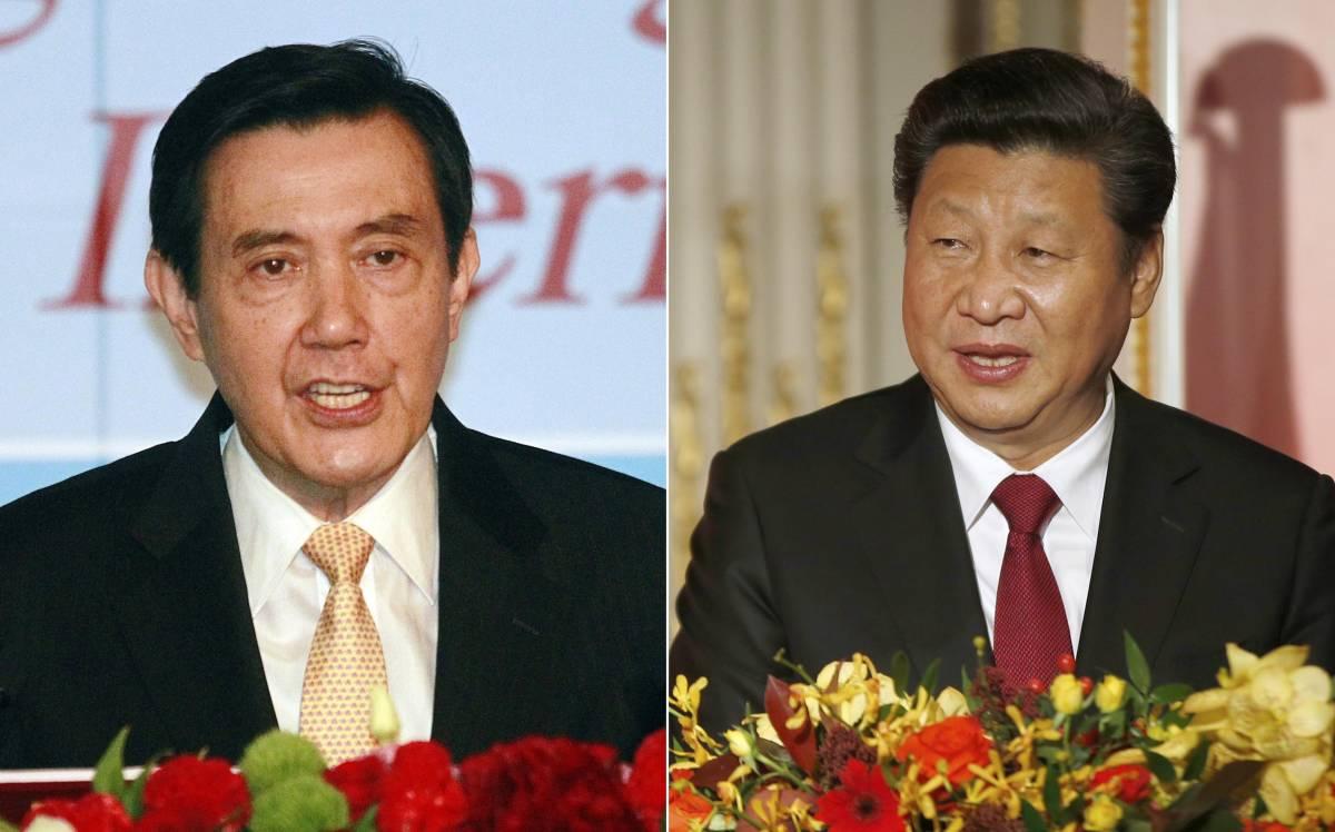 Ma Ying-jeou e Xi Jinping