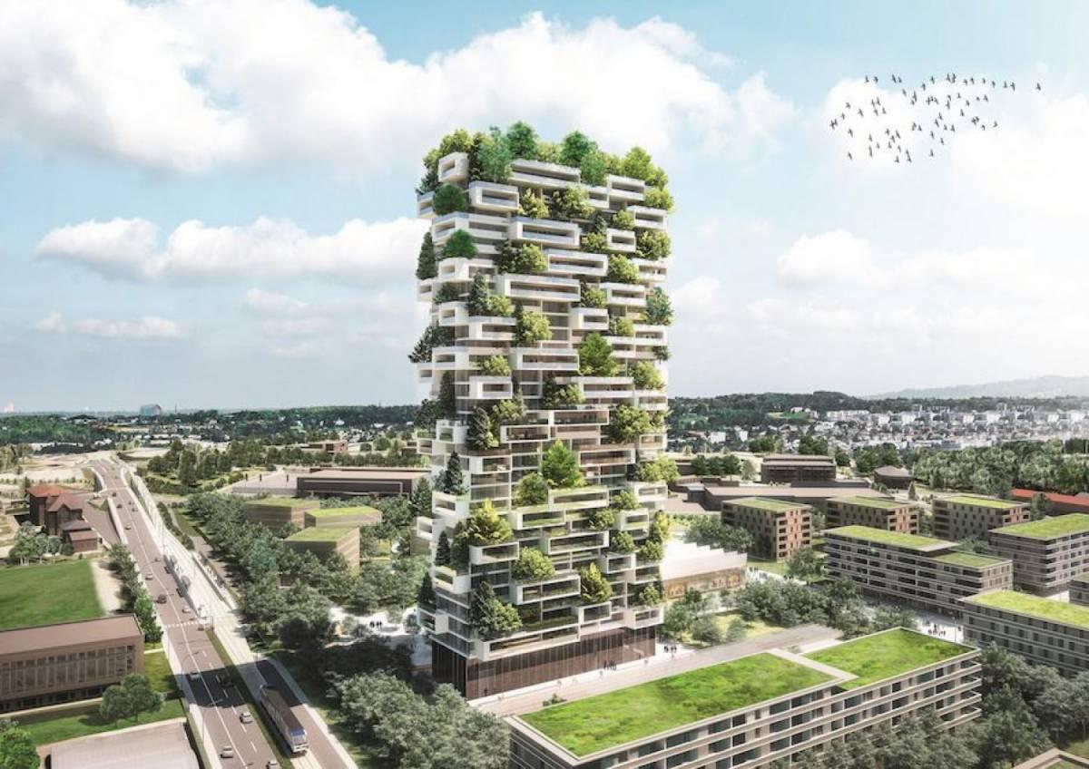 In Svizzera sorgerà un nuovo bosco verticale: la Torre dei Cedri