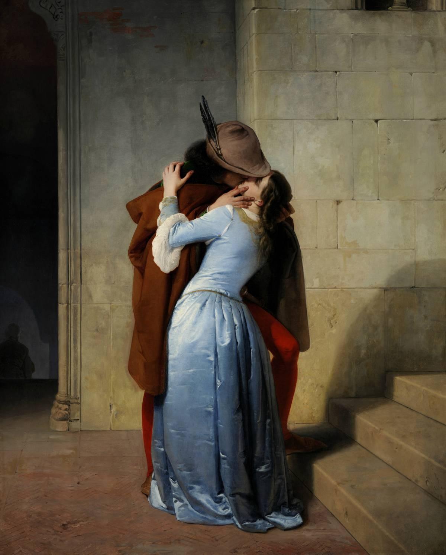 Hayez, non solo un bacio Cento dipinti da scoprire