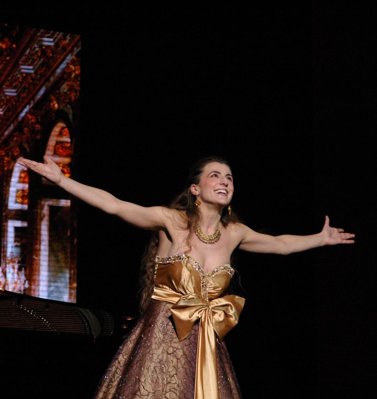 Il soprano Silvia Colombini si esibisce per Mattarella