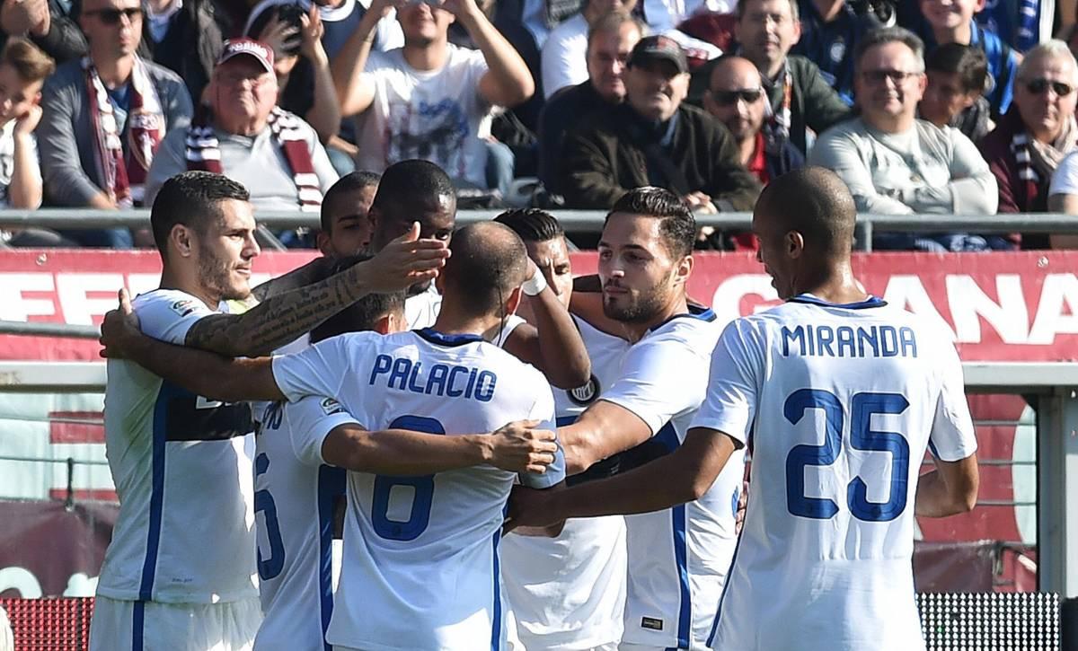 Primo gol di Kondogbia e l'Inter vince a Torino