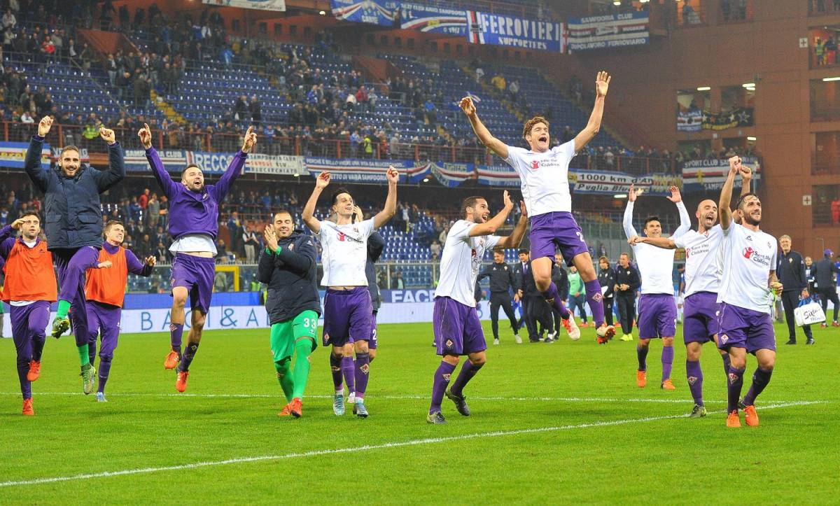 Sampdoria - Fiorentina: 0-2