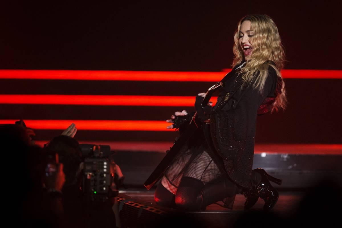 """Madonna in formato kolossal  """"Nessuno può battere la Regina"""""""
