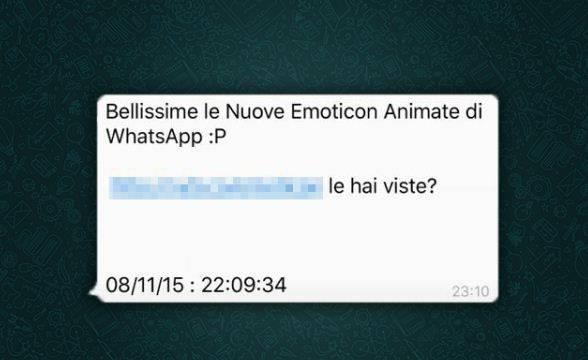 WhatsApp, l'emoticon che manda in tilt il cellulare