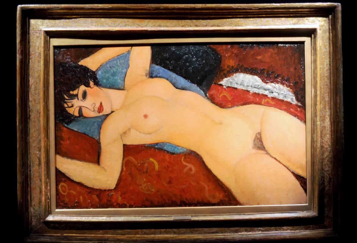 """Asta record per un quadro di Modigliani. """"Nu Couché"""" venduto per 158 milioni"""