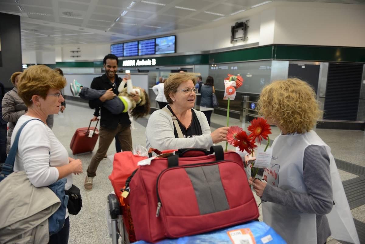 Airport Helper, accoglienza con gentilezza a Linate e Malpensa