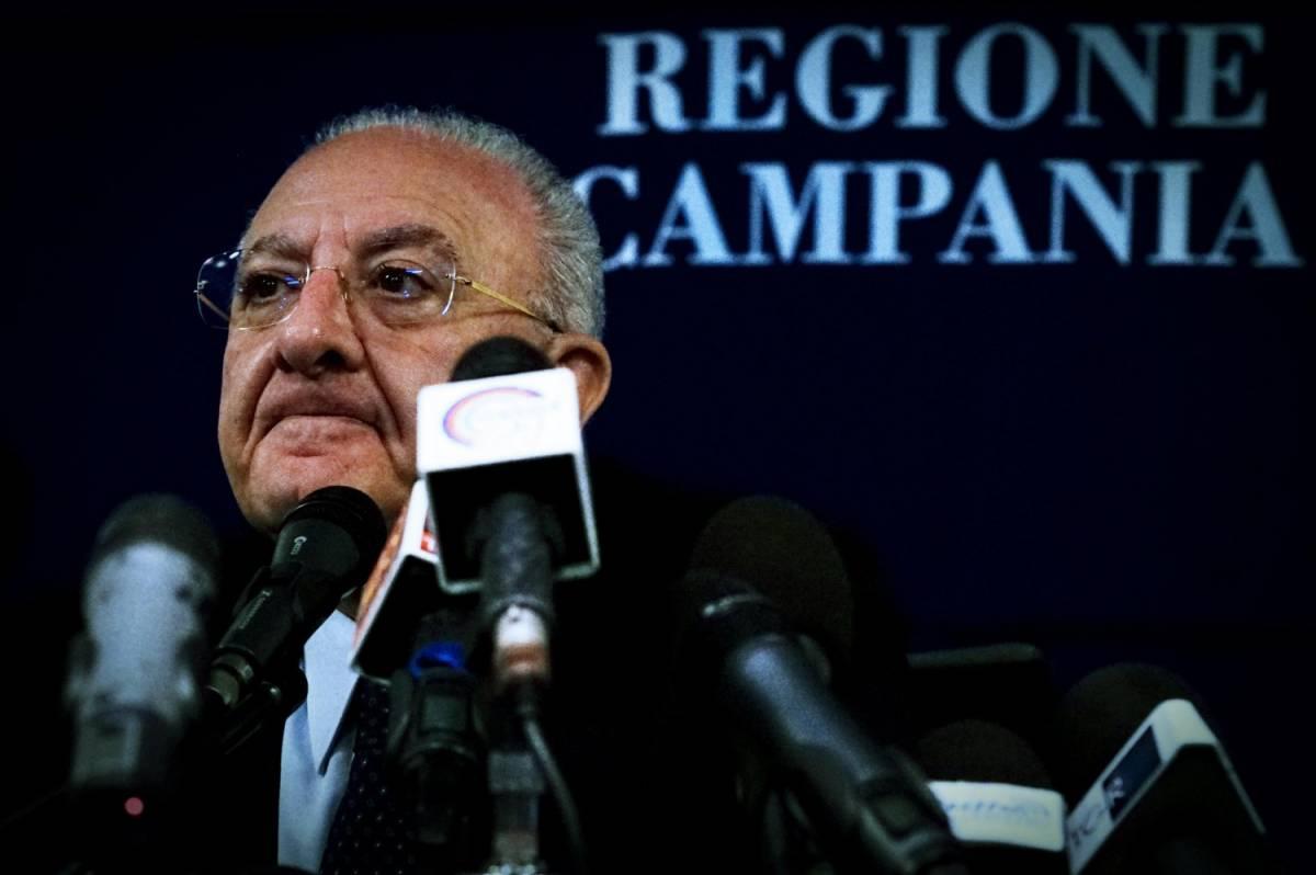 """Ora De Luca scarica il suo vice: """"La Regione Campania sono io"""""""