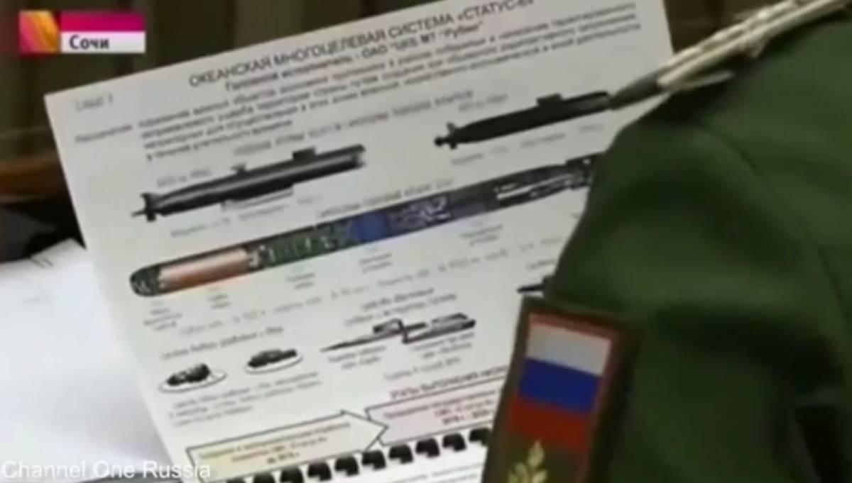 Le armi segrete di Putin, svelate in tv per errore