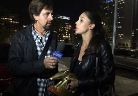"""Tapiro d'oro a Belen Rodriguez: """"La prenderei a schiaffi"""""""