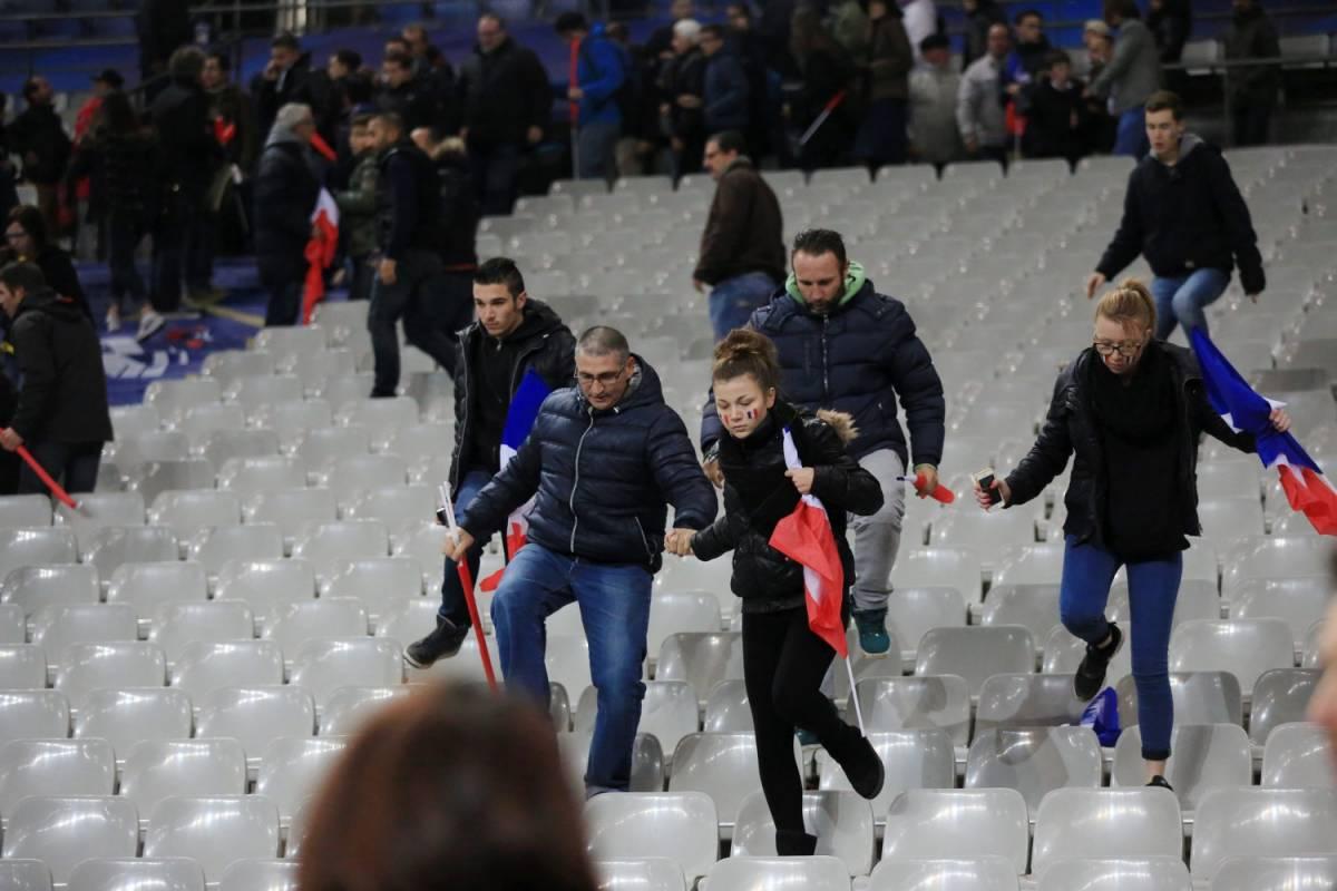 """Nello stadio durante le esplosioni: """"Come in una guerra medievale"""""""