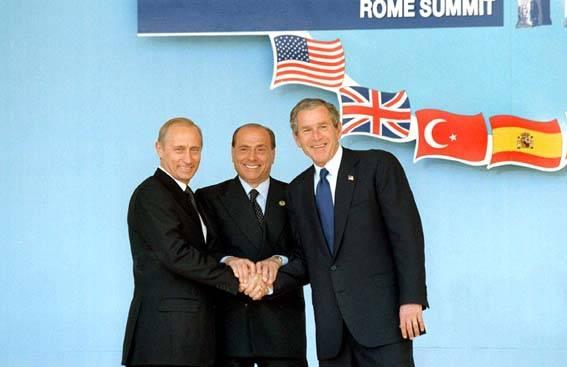 Lo spirito di Pratica di Mare Serve l'asse Russia-Usa-Ue