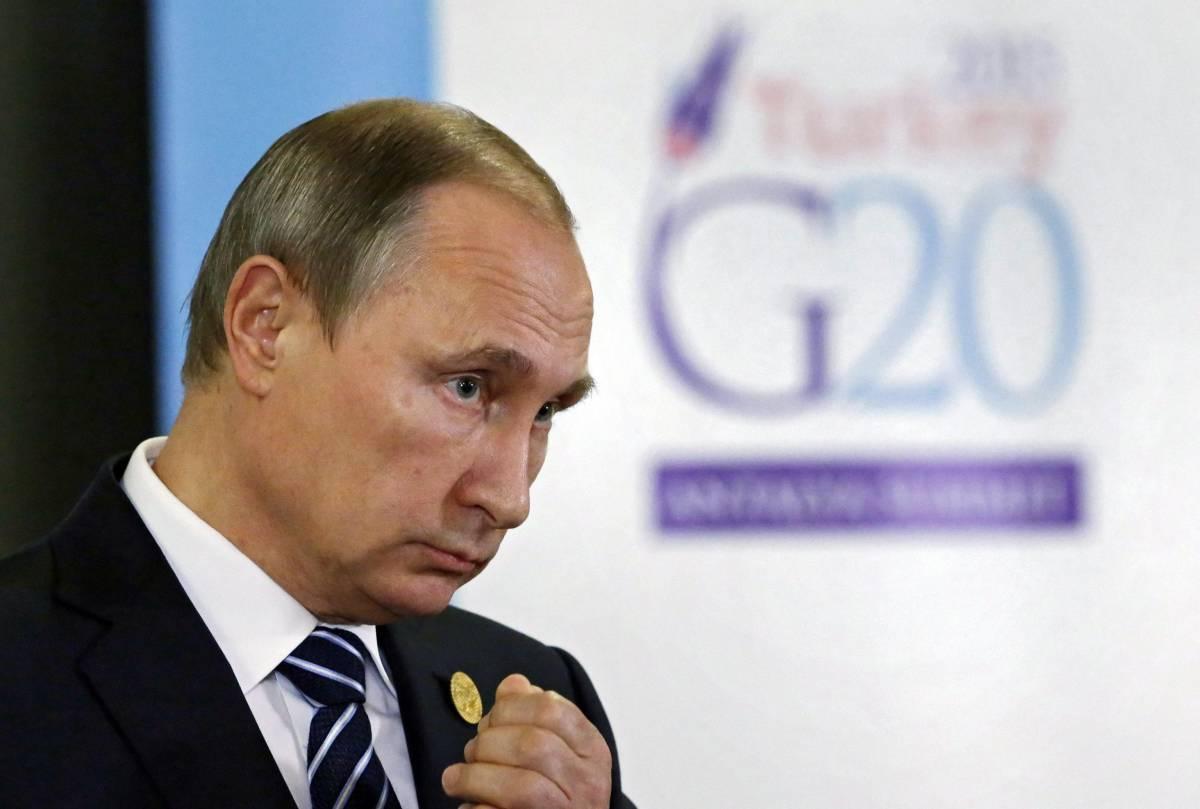 Putin: Isis finanziato da 40 Paesi, anche membri del G20
